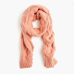 J. Crew || Loopy Stitch Oversized Cable-Knit Scarf
